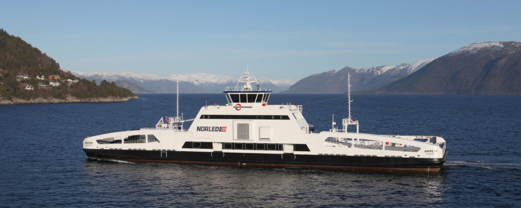 Driving the green shift in the Norwegian ferry sector