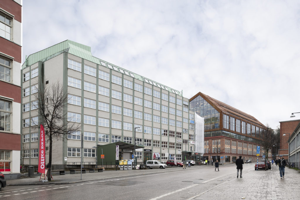 CapMan Real Estate sells office property in Stockholm to Fabege
