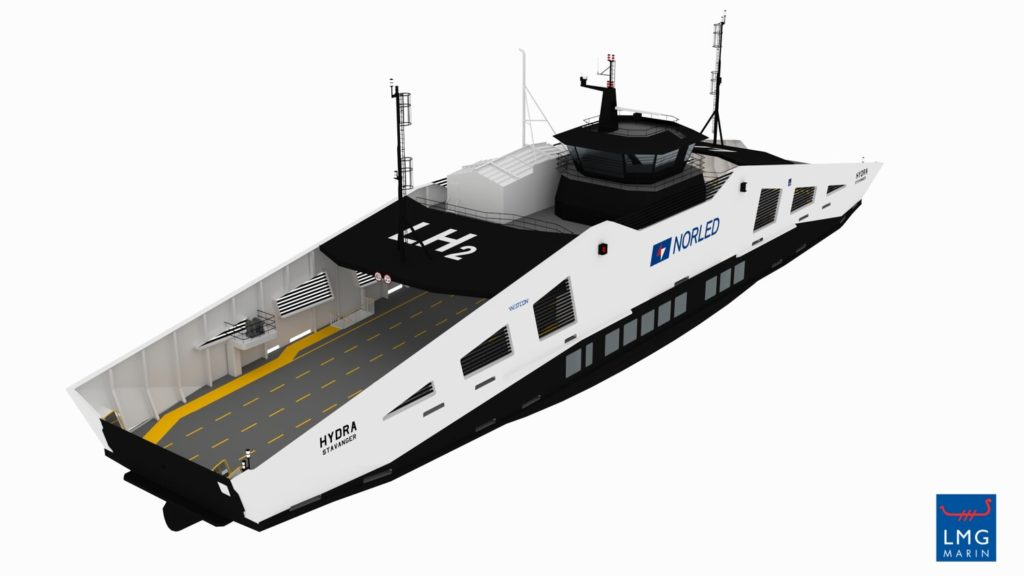 The world's first hydrogen car ferry is coming to Norway