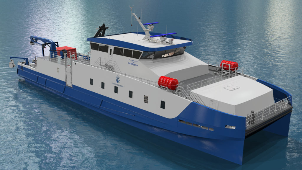 New contract for Norled for delivery of a hybrid high-speed vessel