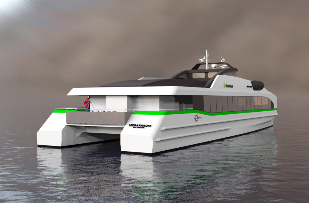 Norled will help launch the world's first fully electric express boat