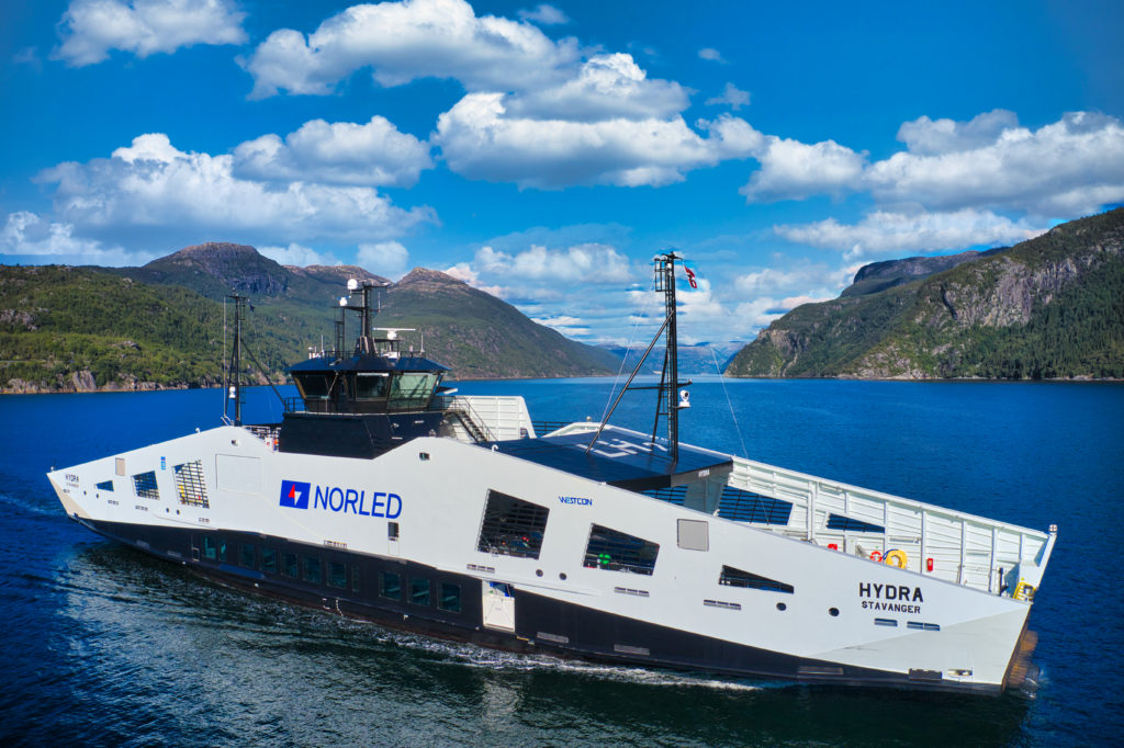 Norled's MF Hydra wins Ship of the Year