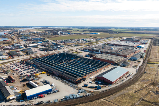 CapMan Real Estate acquires industrial property in Köping